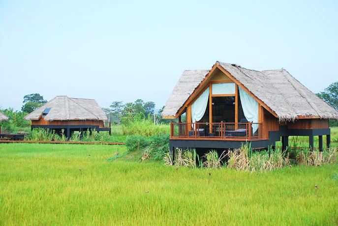 自然の中にあるラグジュアリーホテル ジェットウィング ヴィルウヤナ(JETWING VIL UYANA)