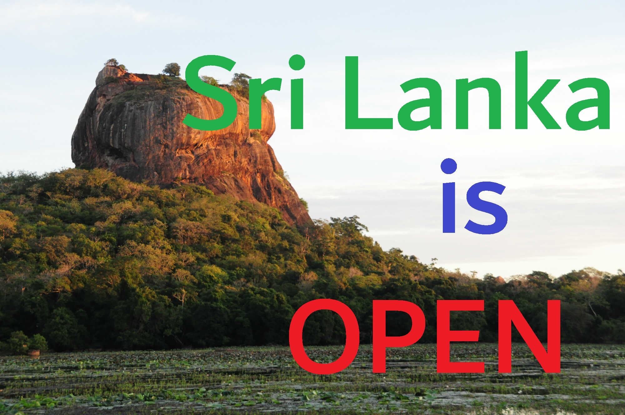 Sri Lanka is open!